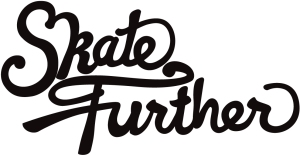 Skate Further Logo Final - Black