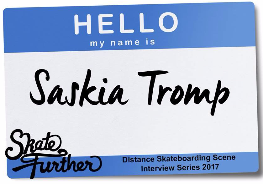 Hello, my name is SaskiaTromp